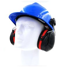 XT-XINTE G02 Protective Earmuffs Helmet Soundproof Earmuffs Anti-noise Earmuffs for Construction Site Coalmine