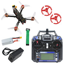 JMT F4 X1 175mm FPV Racing Drone Quadcopter RTF with GHF411AIO F4 2-4S AIO Flight Controller Flysky Remote Controller