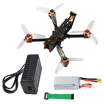 JMT F4 X1 175mm FPV Racing Drone Quadcopter BNF with GHF411AIO F4 2-4S AIO Flight Controller FD800 Receiver Ratel FPV Camera Supra-VTX