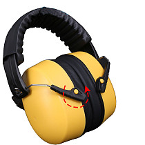 XT-XINTE Noise Reduction Protection Learning Work Sleep Labor Protection Anti-Noise Headphones Protective Earmuffs