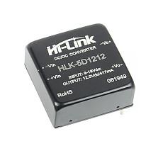 HI-LINK HLK-5D1205/5D1212/5D1215/5D1224 DC DC 5W Voltage Stabilizing 4:1 Wide Voltage Input Power Supply Module