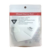 XT-XINTE  2pcs KN95 Disposable Mask dust-proof PM2.5 Valveless Masks Protective Breathable Mask