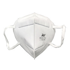 XT-XINTE  2pcs KN95 Disposable Mask dust-proof PM2.5 Valveless Masks Protective Breathable Mask