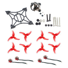 Happymodel Larva X FPV Racing Drone Accessory Kit Replacement Parts with Frame EX1103 7000kv Motors Canopy 2.5inch Props