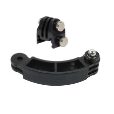 BGNing Rail Mount with Bending Extension Arm Connector Mount for GoPro EKEN OSMO Action Camera