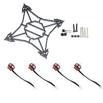Happymodel Larva X FPV Racing Drone Accessory Kit Replacement Parts 100mm Frame EX1103 7000kv Motors Screw Kit