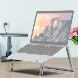 XT-XINTE 1x Foldable Laptop Stand Holder For MacBook Pro Aluminum Cooling Bracket Universal Protable Holder 10 -15  Notebook Tablet PC