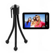 Hawkeye Touch Screen Firefly X 170 Degree / XS 90 Degree Action Camera w/ 2.35  4K 30fps Super-View Wifi Bluetooth FPV Sport Cam w/ Small Soft Hose Mini Table Tripod Camera Stand Desktop Tripod