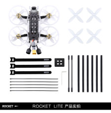 GEPRC Rocket Lite Cinewhoop FPV Racing Drone 112mm F4 4S 2 Inch BNF With View 720P Digital HD RC Unit Helicopter Toy