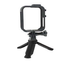 BGNing Plastic Protection Frame Case Panoramic Action Camera Cage Border With Mini Tripod For Gopro Max Sports Camera