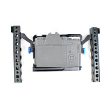 BGNing Aluminum Camera Cage with Dual Handle DSLR Photography Stabilizer Rig Protective Case for Fujifilm X-T3 /XT3/XT2 /X-T2