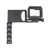 BGNing Aluminum Gimbal Splint Adapter Plate with 1/4 Tripod Mount Handle Hand Grip for GOPRO8 GOPRO MAX DJI MOZA Action Camera Selfie Device