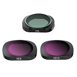 Sunnylife Lens Filter Set 6 in 1 MCUV CPL ND4 ND8 ND16 ND32 Optical Glass Professional for FIMI Palm Gimbal Camera Accessories