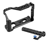 BGNing Aluminum Camera Cage with Handle DSLR Photography Stabilizer Rig Protective Case for Fujifilm X-T3 /XT3/XT2 /X-T2