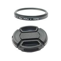 BGNing Universal SLR Camera UV Filter with Lens Cap for 52mm DSLR Camera Lens