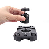 Sunnylife Trackless Stabilizer Metal Holder Video Slider for Gopro OSMO Action Pocket Fimi Insta360 for SKATER Mini Camera Dolly