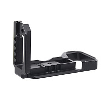 BGNING L Type Quick Release Plate for Sony A6600 Camera with Double Aka Port Aluminium Alloy Pro Plate for Sony A6600