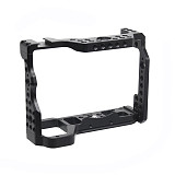 BGNING A9II CNC Aluminum Alloy Photography Camera Cage Video Film Movie Making Stabilizer Rig Protective Case 1/4  Screw for Sony A92 Camera