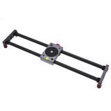 BGNING 40CM Carbon Fiber Desktop Mini Slide Rail Bearing Stabilizer for SLR Micro Single Camera Smartphone