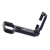 BGNING A9IIL Aluminum Alloy L Type Tripod Ball Head Bracket Adjustable Quick Release Plate for Sony A92