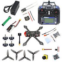 QWinOut three225 Airframe F4 Betaflight 1200TVL ND filter Camera 2306-2400kv Motors Dshot600 ESC Propellers 1500MAH Battery&Charge Flysky FS I6 6CH TX&Receiver DIY Drone Kit
