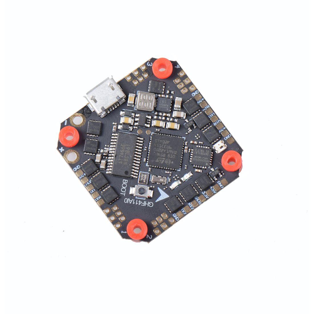JMT GHF411AIO F4 FC AIO with Whoop/_VTX 5.8G 40CH VTX for 3-5/'/' Mini FPV Drone