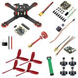 JMT J205 Quadcopter FPV DIY Drone Kit , with 4 in1/Split ESC / 3S Battery w/ FRSKY / Flysky Receiver