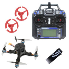 JMT OctopusX1 127mm FPV Racing Drone with Carbon Fiber Frame MiniF4 Flight Controller 20A 4 in 1 ESC 3inch Propellers FS I6 Transmitter Flysky Version