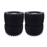 FEICHAO 4PCS Truggy Monster Truck Wheels Tires for Redcat Hsp Kyosho Hobao Hongnor Team Losi GM DHK HPI 1/8 Monster Truck Bigfoot Car