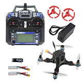 JMT OctopusX1 127mm FPV Racing Drone RTF with MiniF4 Flight Controller 20A 4 in 1 ESC FS I6 Transmitter 450mAh Battery Flysky Version