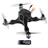 JMT OctopusX1 127mm FPV Racing Drone BNF with Carbon Fiber Frame MiniF4 Flight Controller 20A 4 in 1 ESC 3inch Propellers Frsky Version