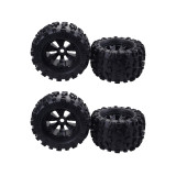 FEICHAO 4PCS Toy Car Wheels & Tires for Redcat Rovan HPI Savage XL MOUNTED GT FLUX HSP 1/8 Monster Truck RC Car