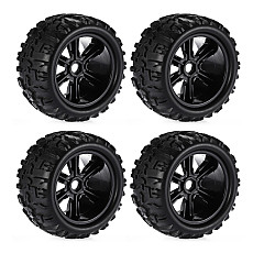 FEICHAO 4PCS Toy Car wheels & Tires for Redcat Hsp Kyosho Hobao Hongnor Team Losi GM DHK HPI 1/8 Monster Truck RC Car