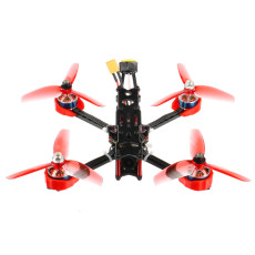 JMT F4 X1 175mm FPV Racing Drone 2-4S Quadcopter BNF Frsky Version with GHF411AIO Flight Controller XT1806-2500KV Motors Ratel 1200TVL FPV Camera Supra-VTX FD800 RX