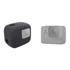 FEICHAO Windproof Cover High Sponge Sound Absorbing Cotton for GoPro 8 Portable Camera Accessories Cover
