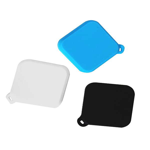 FEICHAO Silicone Lens Cap Dust Cover Lens Protection Cover For Insta360 ONE R 4K Wide Angle Lens 360° Panorama Camera Accessories