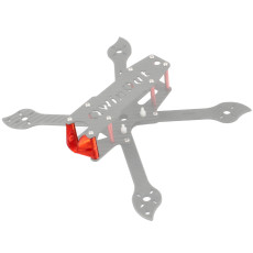 JMT 3D Printed TPU Camera Mount Holder Fit for 19MM FPV Camera Three 225 Frame Kit DIY FPV Racing Drone