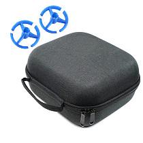 JMT EVA Remote Controller Carrying Case Storage Bag with 3D Print Radio Control Rocker Mount for FRSKY X9D Plus Radiolink AT9 AT9S T8S FLYSKY Transmitter