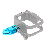 BGNING Aluminum Alloy Conversion Base CNC for Gopro8 Gopro Max Gopro Full Series / XIAOYI / GitUp AEE / SONY / DJI Sports Camera Accessories 5CM