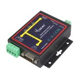 DIEWU RJ45 to RS232 RS485 RS422 Industrial Male Converter TCP/UDP Serial RS232 RS485 to Ethernet Device Server
