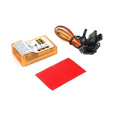 FEICHAO NX4 EVO Flight Controller 3D Flight Gyroscope Balance For Fixed-wing Aircraft Support Rate/Hold/Gyro Off Mode