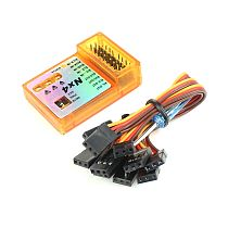 FEICHAO NX4 PRO Flight Controller 3D Flight Gyroscope Balance For Fixed-wing Aircraft Support Rate/Hold/Gyro Off Mode