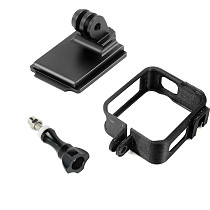 XT-XINTE Helmet Mount + Protective frame Case for DJI OSMO Action Anti-fall protective shell sports camera helmet accessories