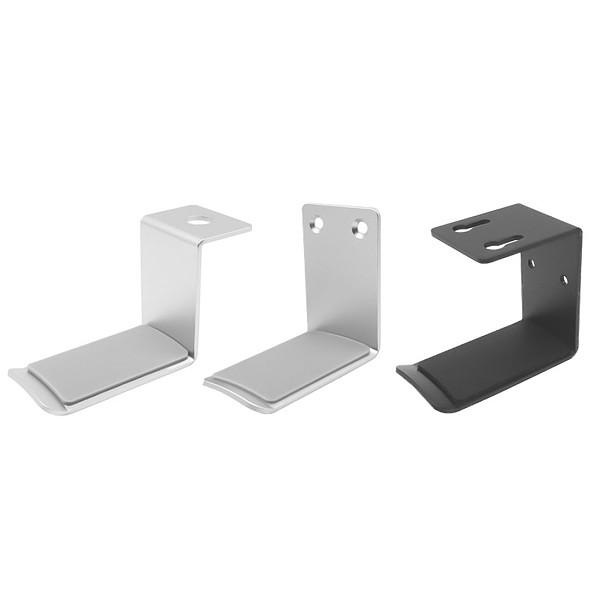 XT-XINTE Universal Headphone Holder Aluminium Alloy Headset Bracket Hanger Metal Wall Desk Mount Space Saving Stand Hook Earphone Parts