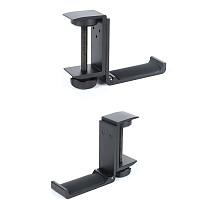 XT-XINTE Universal Earphone Holder Hook Headphone Stand Hanger Adjustable Desktop Lock Clip Sticker Metal for Gaming Headset Stand Mount