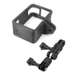 XT-XINTE For DJI OSMO Action Camera Anti-fall Camera protective Frame + Universal Aluminium 360 Degree Swivel Rotating Tripod Mount Adapter