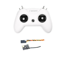 BETAFPV LiteRadio 2 Radio Transmitter 2.4G 12CH Remote Controller Mode 2 with FD800 Receiver for FPV Racing Drone