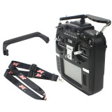 RADIOMASTER TX16S Hall Sensor Gimbals 2.4G 16CH Multi-protocol RF System OpenTX Radio Transmitter with Folding Handle & Lanyard for RC Drone Helicopter Toys