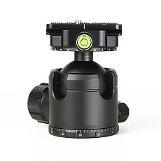 FEICHAO Tripod Low Center of Gravity Double Knob Gimbal Panoramic Aluminum Alloy Gimbal Ball 44mm 52mm for Camera Photography Gimbal