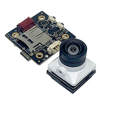 JINJIEAN White Snake 2.1mm/1.8mm lens 1080P HD With DVR Support 128G memory card PAL/NTSC Adjustable For DIY FPV Racing Drone